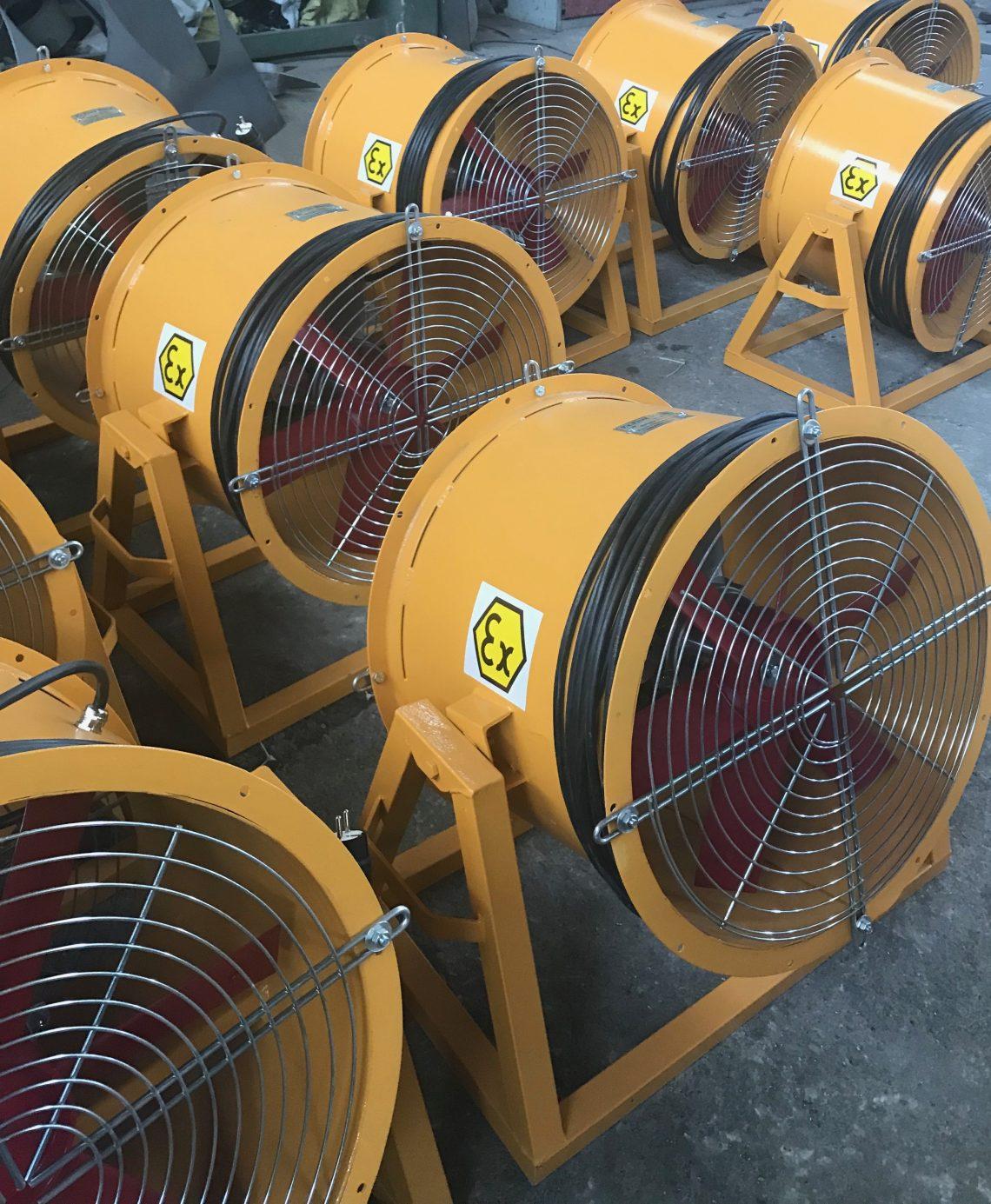 Ex Proof Fan Boiler